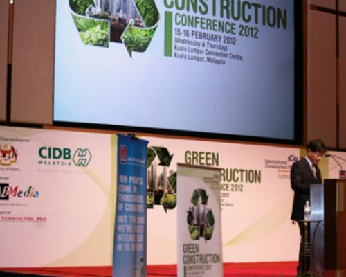 GREEN CONSTRUCTION CONFERENCE ASIA 2012